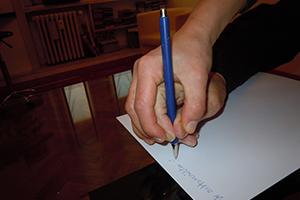 Grafologa e rieducatrice della scrittura