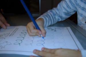 Esercizi per bambini disgrafici